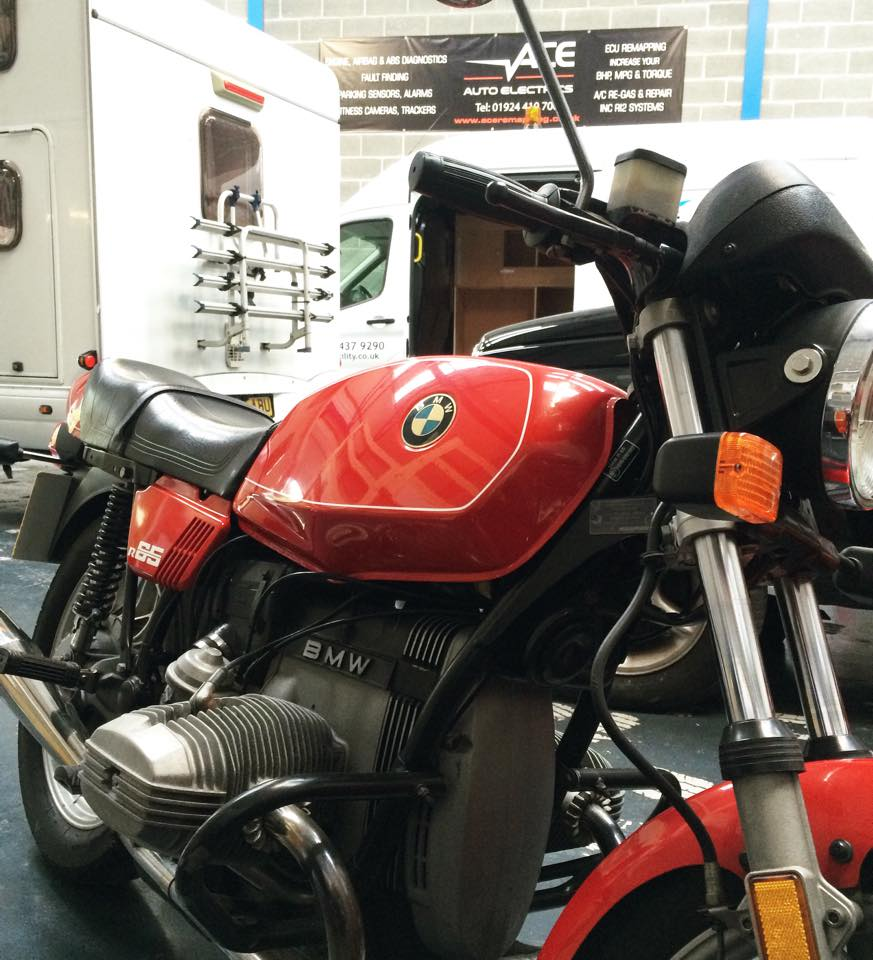 BMW Motorbike | ACE Auto Electrics | ECU Remapping | Vehicle